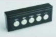 Botonera electrÓnica 1 led 5 teclas Gicar, Vbm