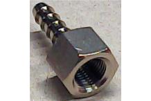 Racor 1/8 h tubo Ø6mm para mangueras Expobar