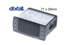 controlador electrónico DIXELL XR60CX-0N0C0 medida de montaje 71x29mm aliment. 12V