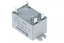 Relé FINDER 230VAC 30A 2NO empalme conector Faston 6,3mm riel DIN Adler