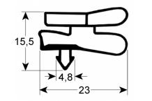 Burlete gris 1530x630 mm iarp abx