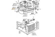 Evaporador cubito montblanc e-12 m-12 p-12 Flonasa
