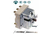 termostato de seguridad temp. desconexión 190°C 3 polos 20A sonda ø 4mm sonda L 120mm