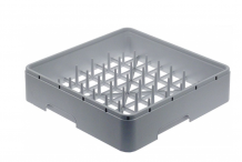 Cesto platos 450x450x106mm cerrado plastico