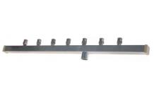 Brazo rociador L 440mm boquillas 7 para tipo de cubito de hielo C BREMA