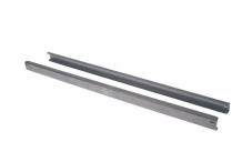 Par de barras de ajuste forma U L 650mm An 14mm H 28mm pos. de montaje izquierdo/derecho Tecnodom