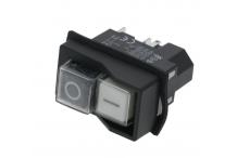 Interruptor seguridad 45x22mm 230v sdz-6 5 p lucca