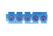 barra de teclas tazas 5 L 132mm An 37mm NuovaSimonelli