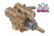 grifo de gas PEL tipo 23S/O entrada gas M28x1,5 (tubo ø 20mm)