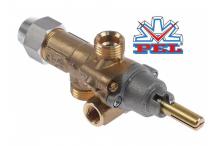 grifo de gas PEL tipo 21S entrada gas M16x1,5 (tubo ø 10mm)