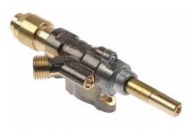 grifo de gas SABAF tipo 10 entrada gas brida de tubo ø14mm Fainca HR, Fiamma RST