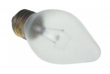 Bombilla incandescente casquillo E27 230V 60W ø 48mm L 102mm cristal L 75mm recubierto de PTFE