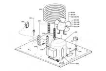 Soporte alto condensador agua basic itv