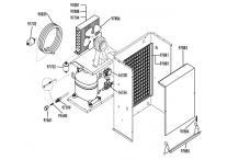 Tapa evaporador vm350 fabricador hielo