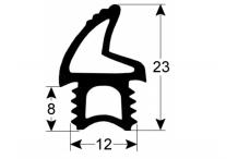 junta de puerta perfil L 2105mm para TECNOEKA